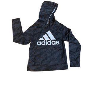 Adidas NWOT Boys Kangaroo Pocket Hoodie-Small